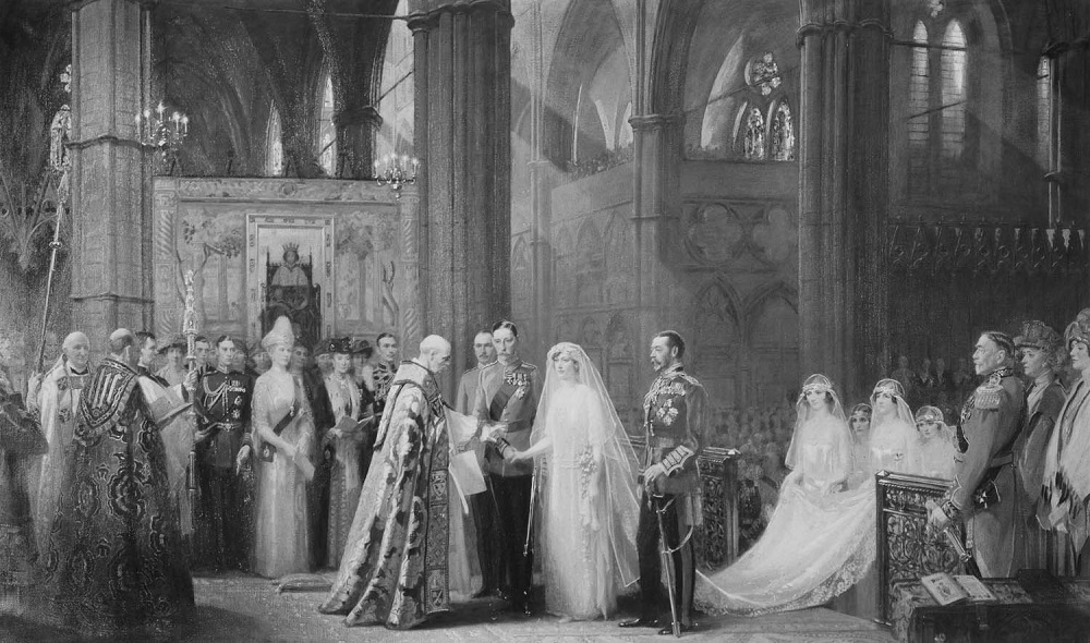 The Marriage of Princess Mary, 28th February 1922.jpg