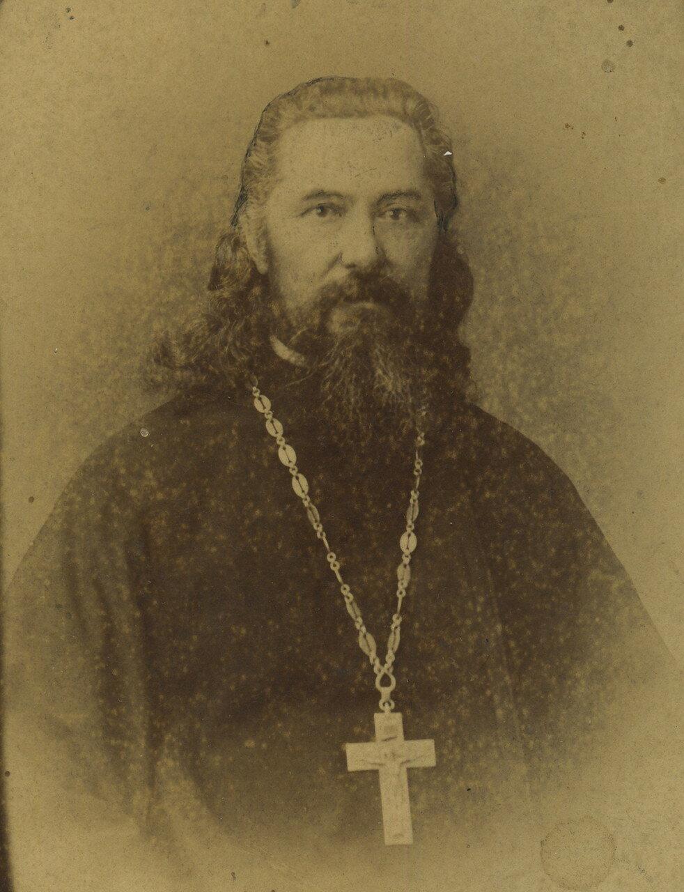 Отец Иоанн Чупров. 1870-е