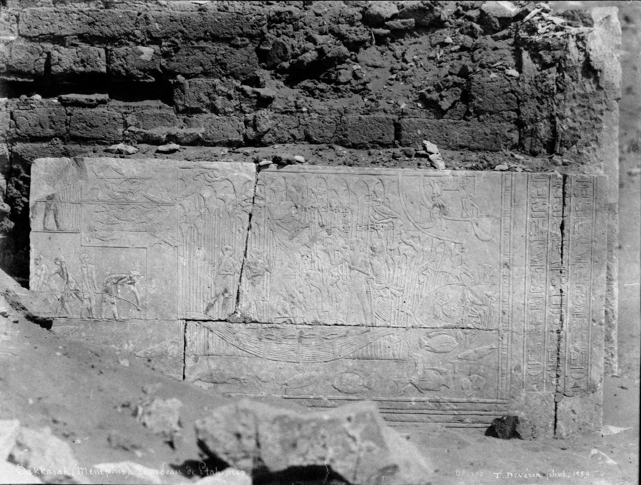 Саккара. Гробница Птамеса