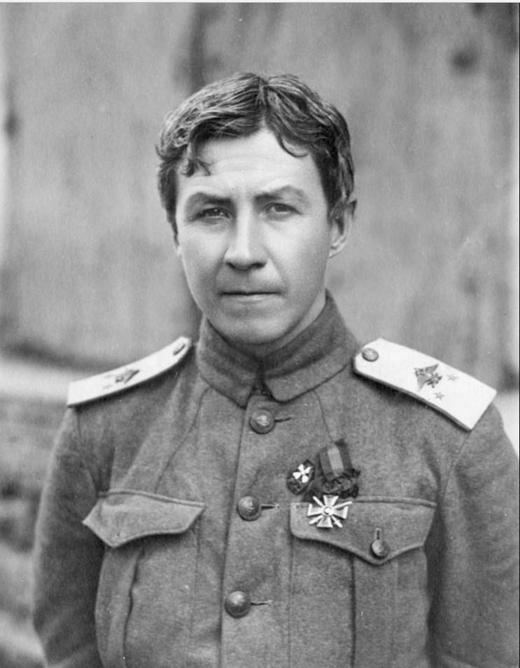 Генерал-майор В. Г. Баранов