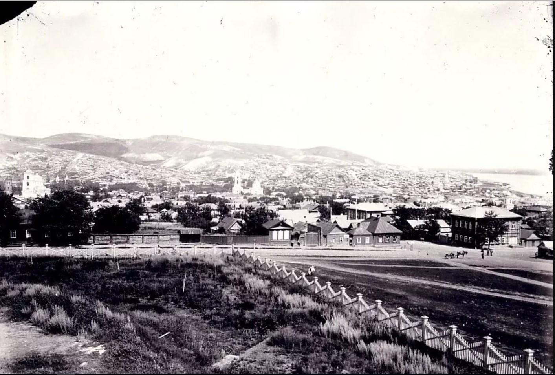 Панорама Вольска от женской гимназии