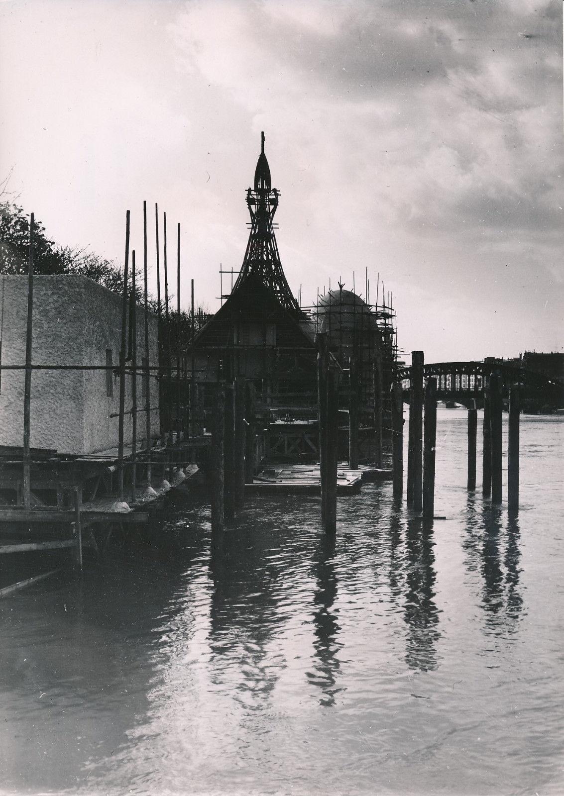 Строительство выставочного павильона Франции