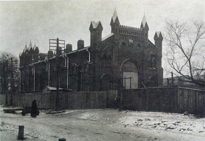 Болдыревская улица. Здание городской электростанции