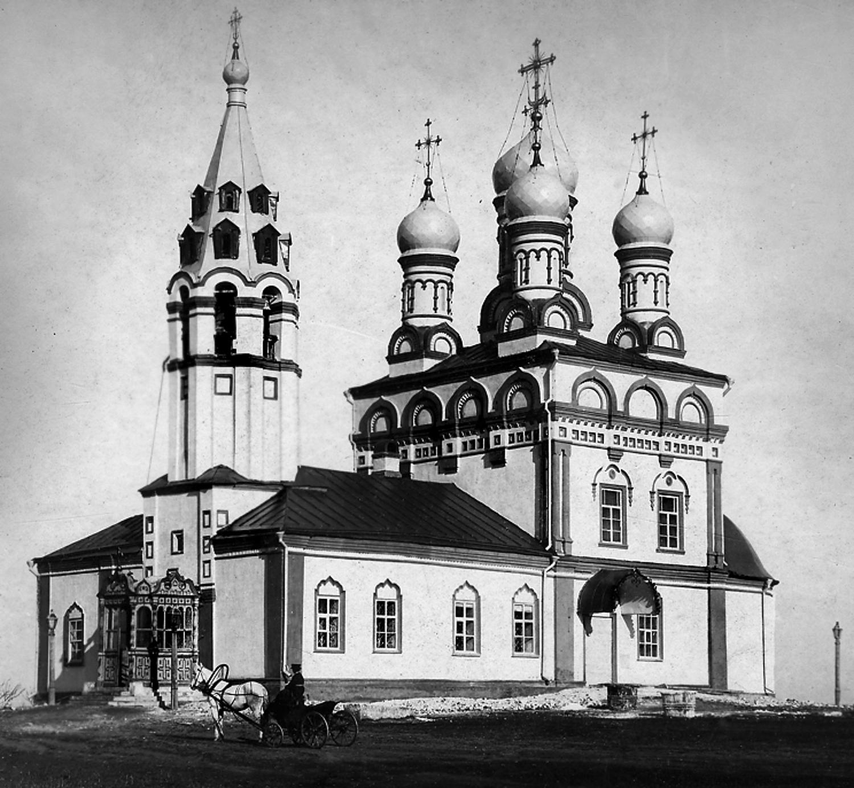 Церковь Спаса на Яру после реставрации. 1885