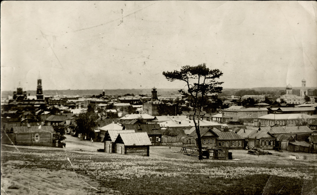 Мелекесс с лесной горки, 1908