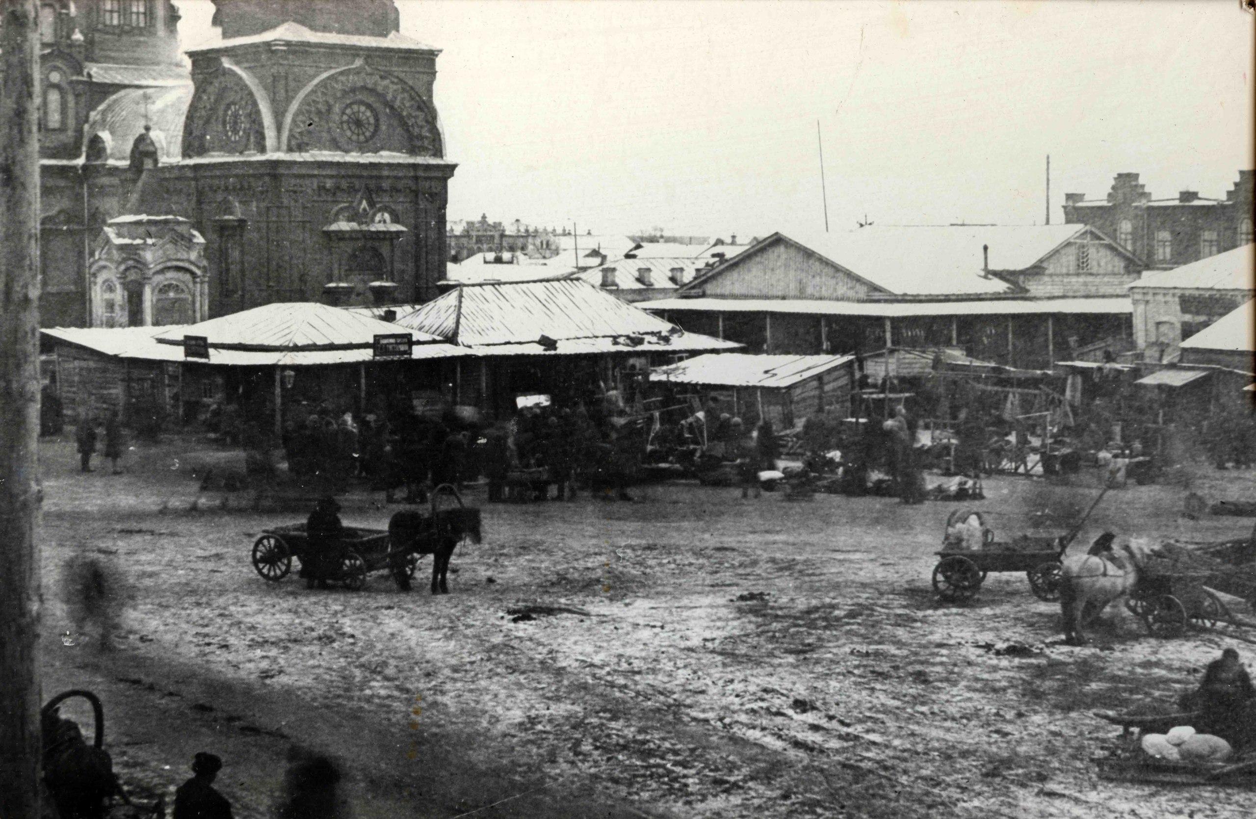 Никольская базарная площадь