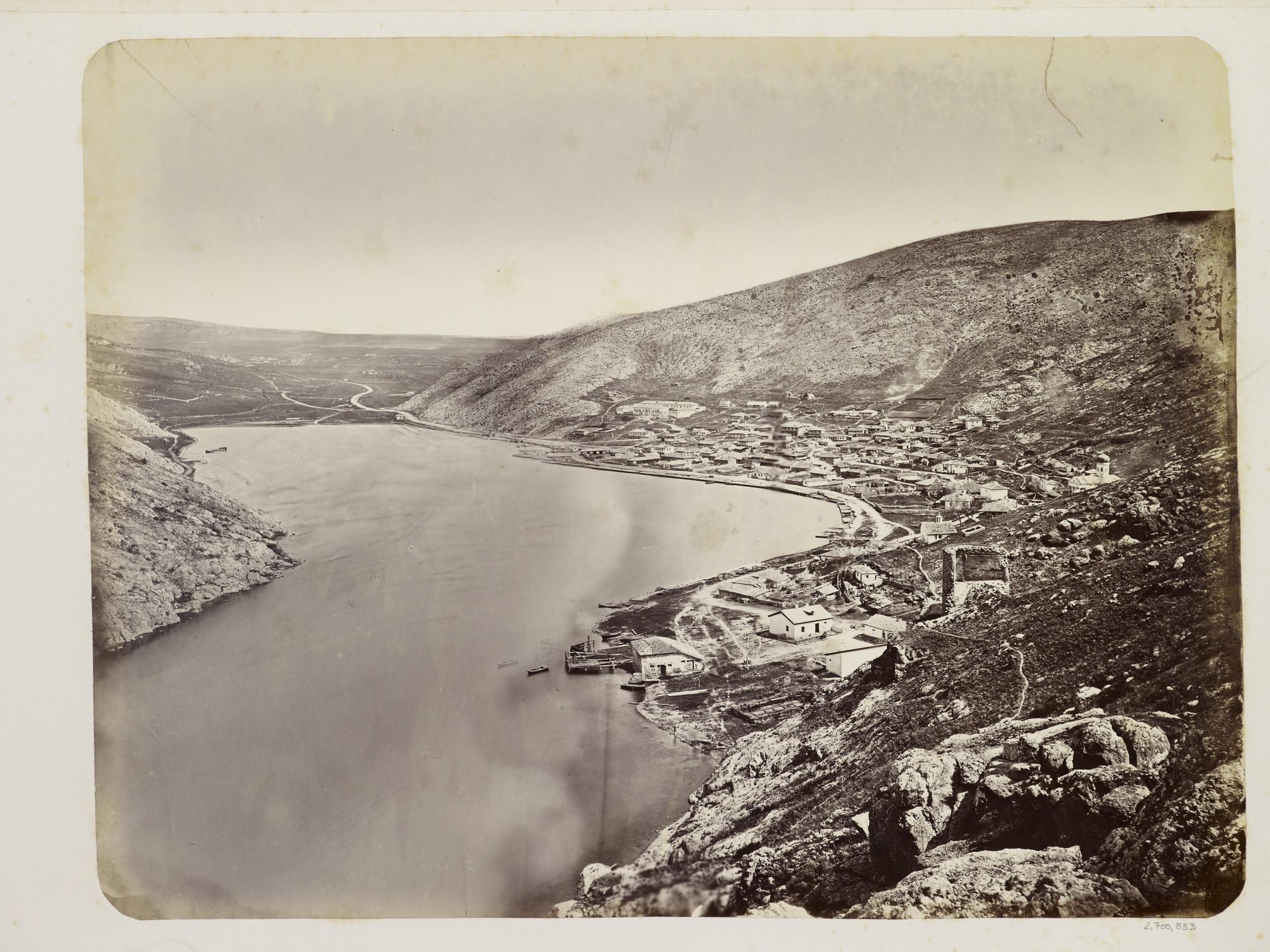 Балаклавский залив. 1869