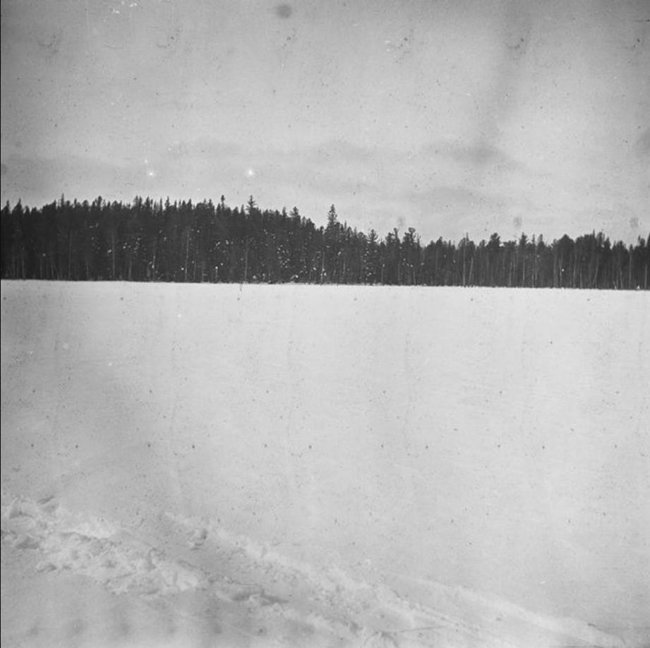 188. Река Вак. Зимний пейзаж