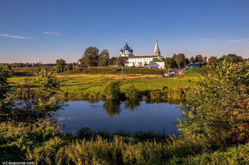 Суздаль - город множества церквей