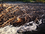 Август 2017. Холмский водопад