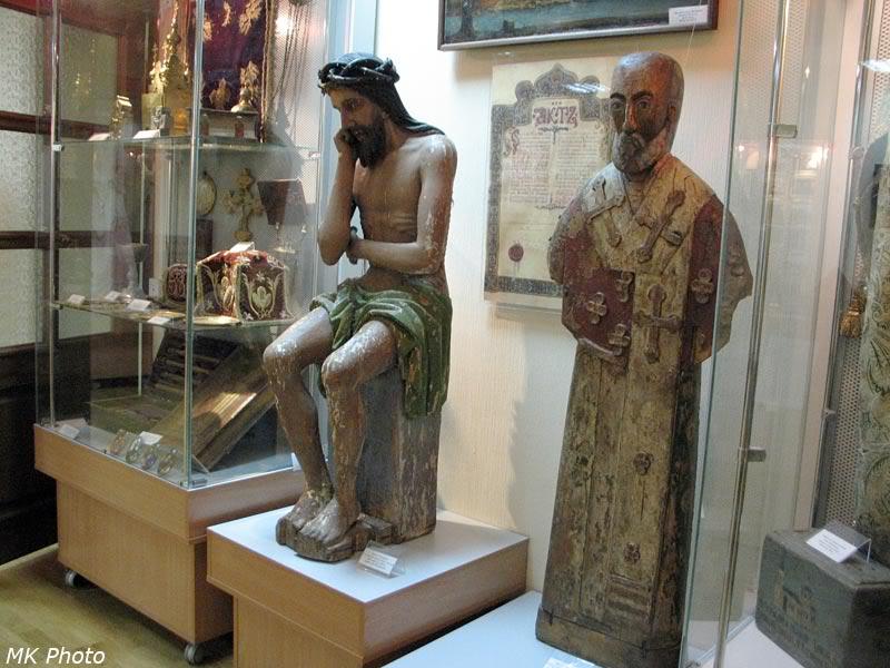 Пермская христианская деревянная скульптура