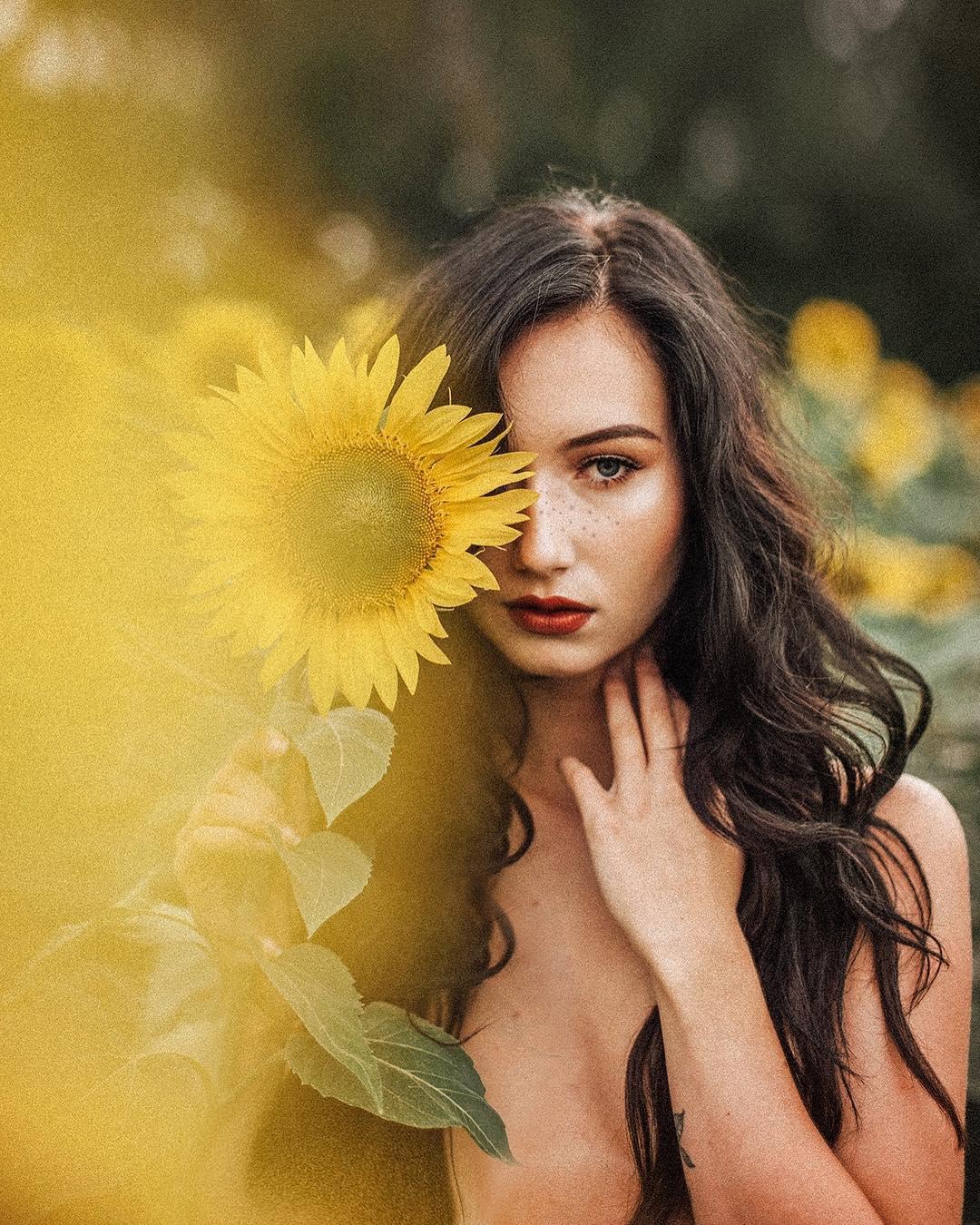 Красивые портреты девушек от Дженны Кэй