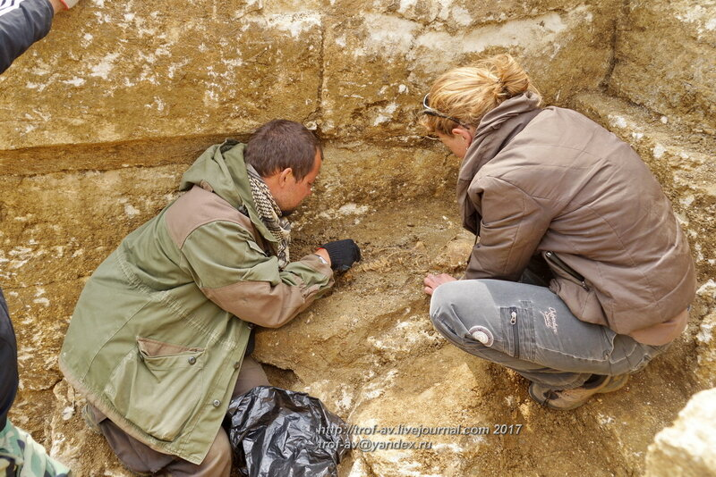 Спасательные раскопки античного кургана Цементная слободка-1, Керчь