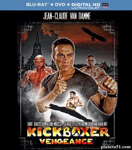 Кикбоксер / Kickboxer: Vengeance (2016/BDRip/HDRip) + Remux