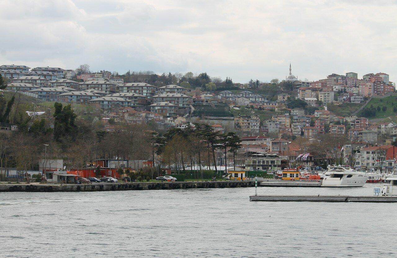 Стамбул. Истинье. Вид с Босфора