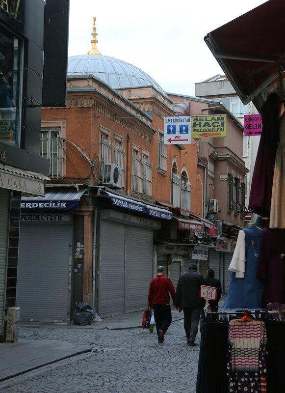 Стамбул. Мечеть Хаджи Кючюк (Haci Küçük Cami)