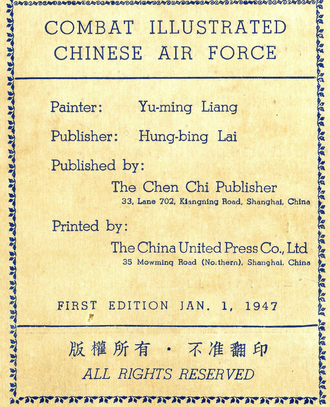 Combat illustrated Chinese Air Force