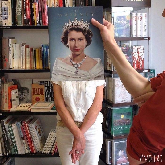 Найди себя в книжном магазине (10 фото)