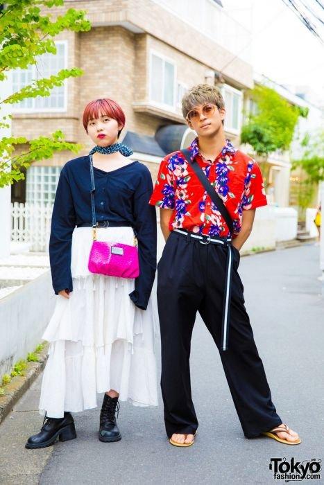 Модники и модницы на улицах Токио (26 фото)