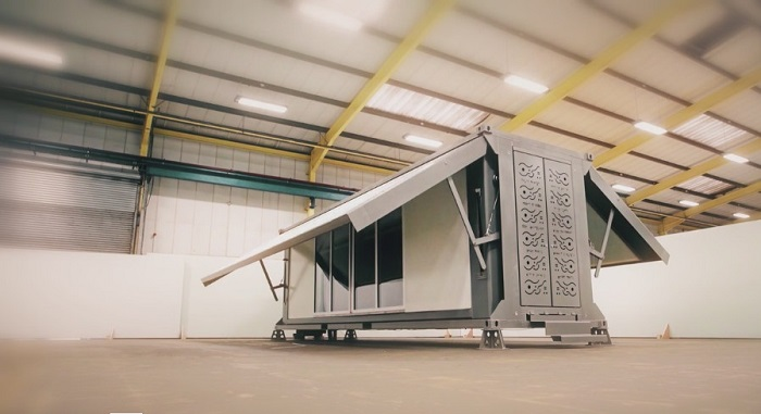 Блок-контейнер дома гармошки увеличивается в пять раз Недавно компания Ten Fold Engineering представ