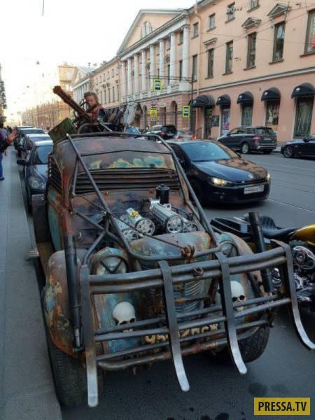 Странные и забавные автомобили с необычным тюнингом