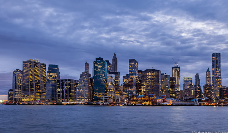 Прогулка по Нью-Йорку (39 фото)