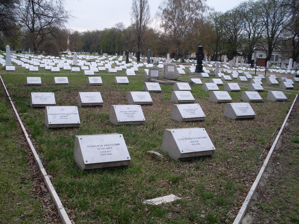 Захоронения советских воинов в Венгрии