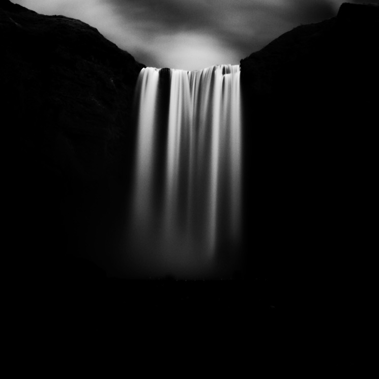 Stark Black and White Photographs of Waterfalls by Massimo Margagnoni