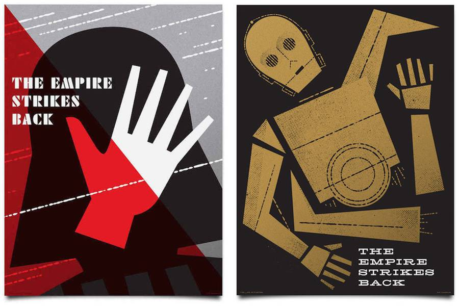 Amazing Graphic Star Wars Posters (19 pics)