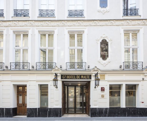 FASHIONABLE ESCAPE IN PARIS: Hotel Malte