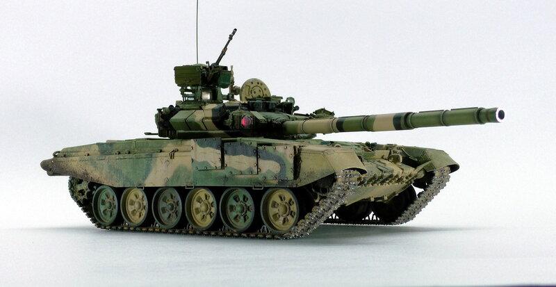 Т-90а трёхцветный камуфляж