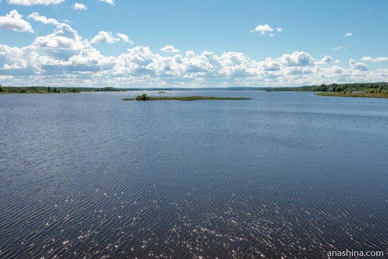 Вытегорское водохранилище, Вытегра