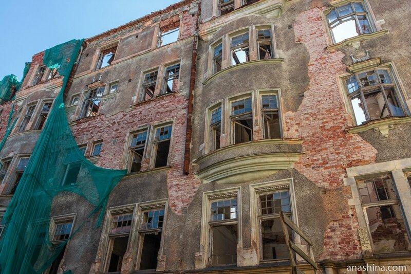 Фасад дома Ховинга, Выборг