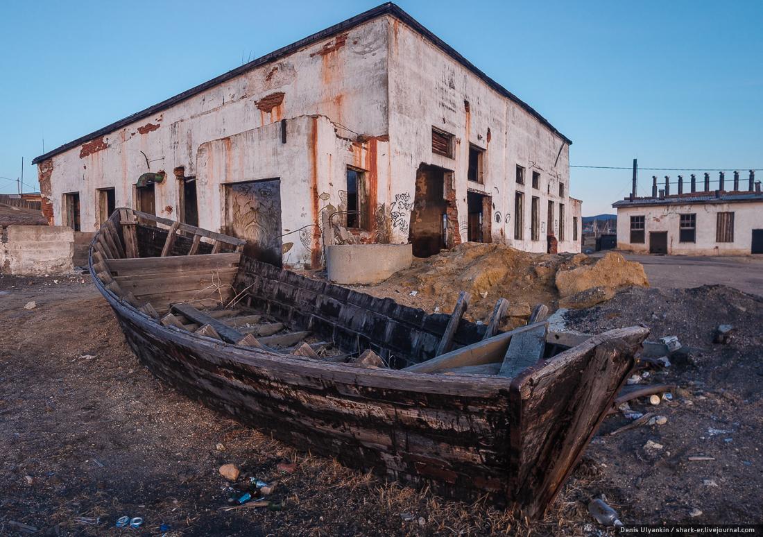 Озеро Байкал. Остров Ольхон. Маломорский рыбзавод