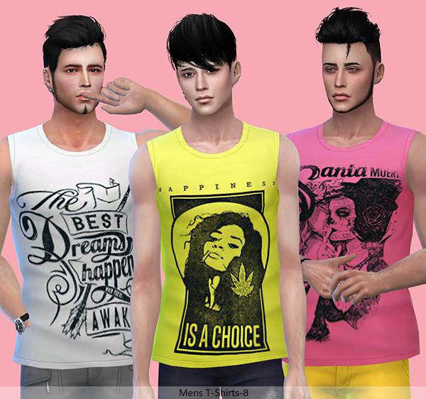 Tatius. Mens T-Shirts-8