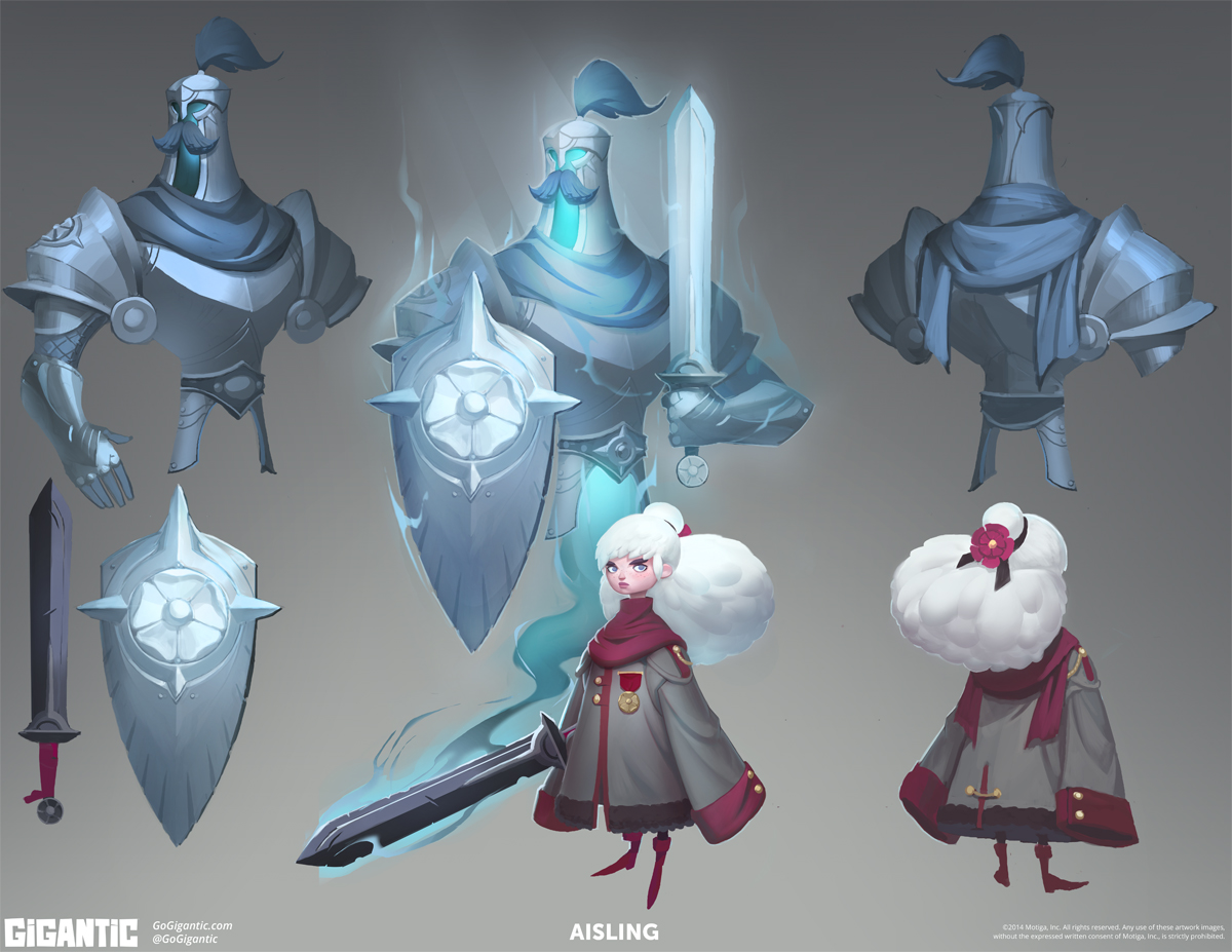Gigantic Concept Art by Devon Cady-Lee