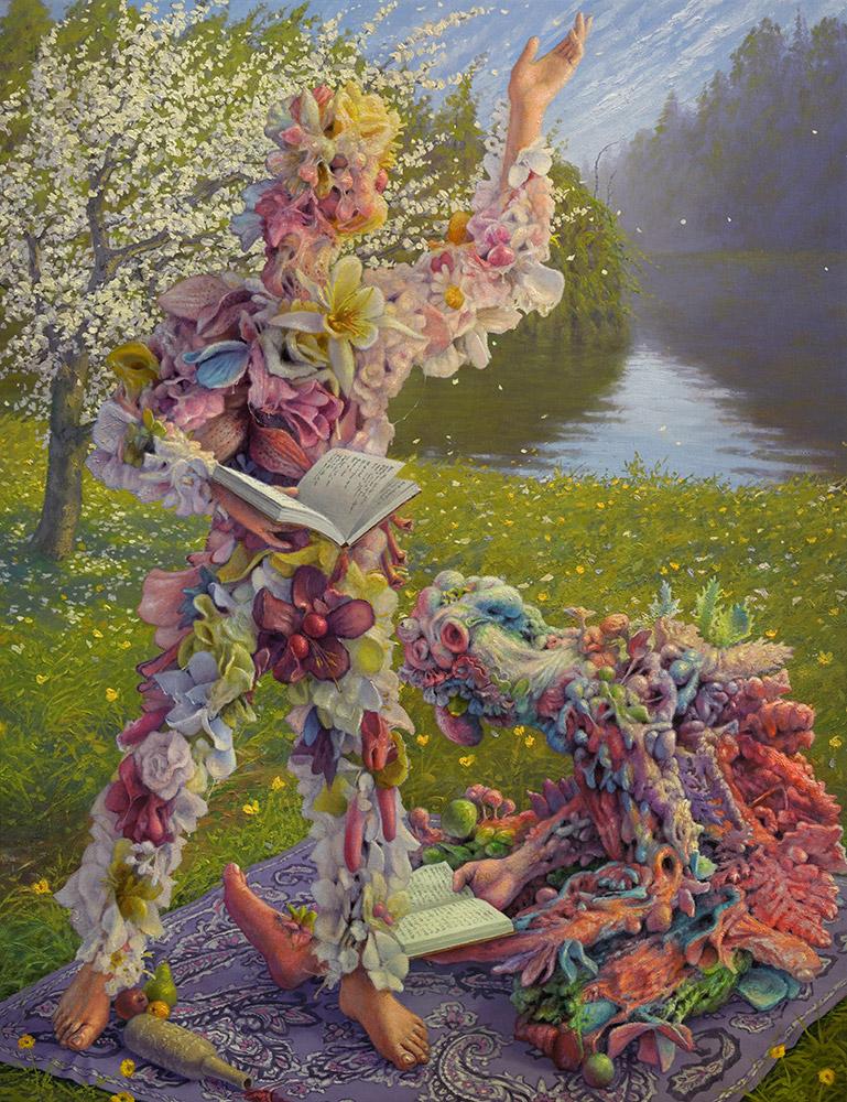 "Previews: Adrian Cox – ""Sensory Garden"" @ beinArt Gallery (4 pics)"