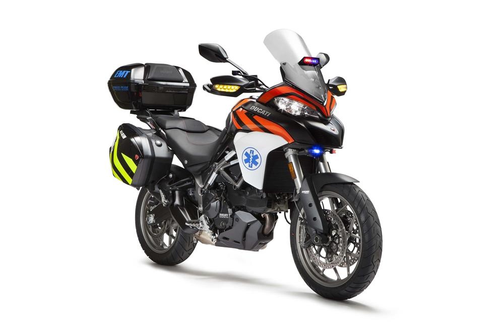 Мотоциклы Ducati Multistrada 950 EMT для Пайкс-Пик 2017