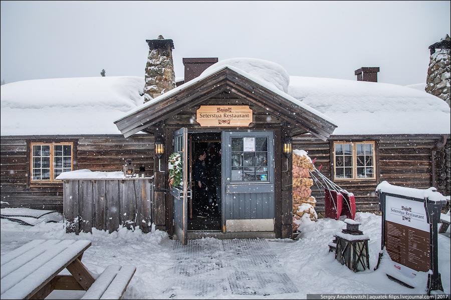 Интересная еда в Норвегии