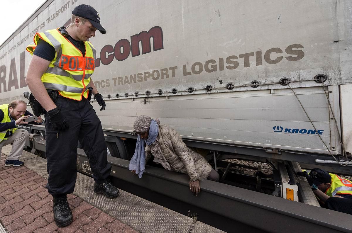 Добро пожаловать в Европу: Задержание сомалийской нарушительницы на немецко-австрийской границе