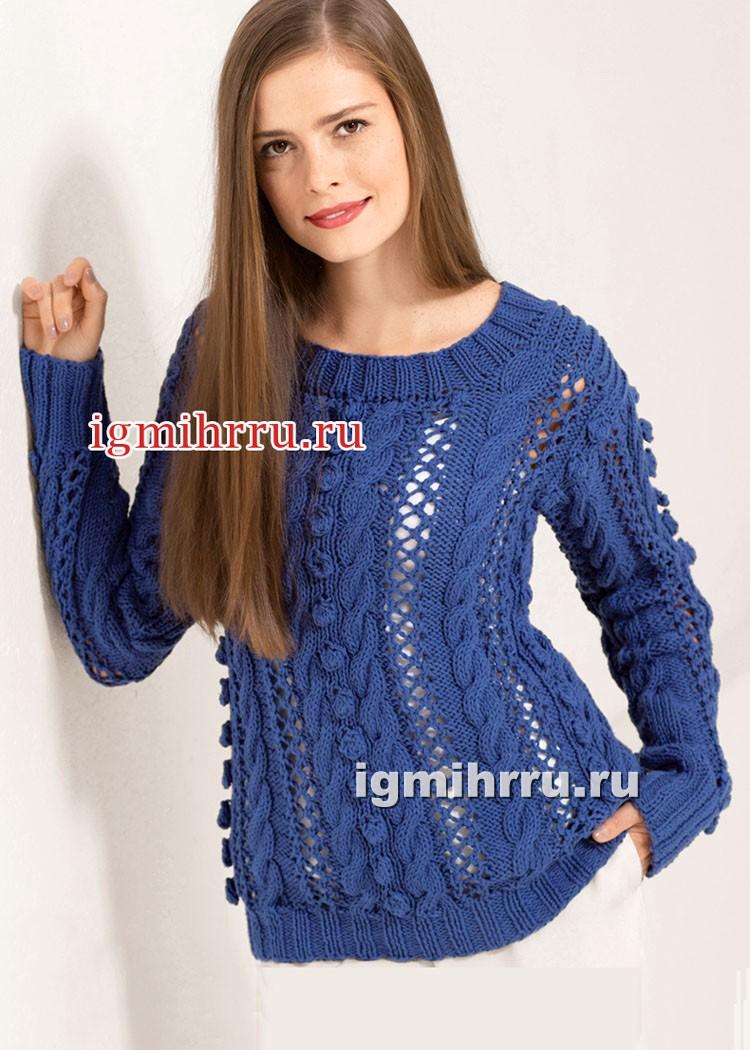 схема вязания свитеров для девушки женщины