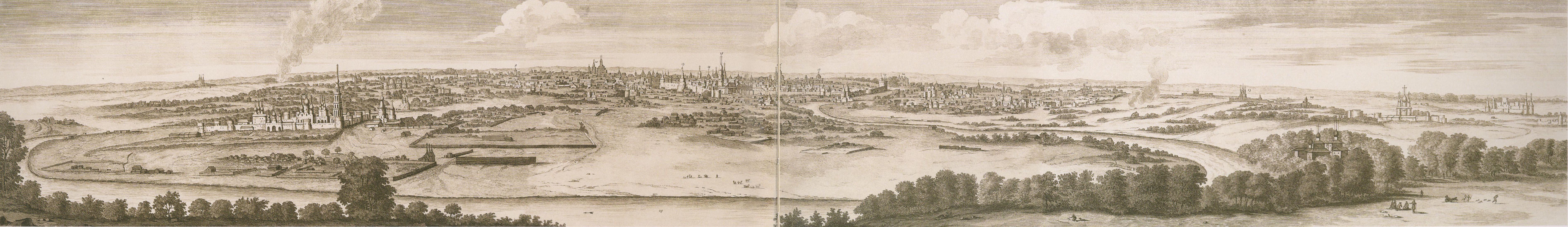452015 Вид Москвы с Воробьёвых гор 1702 Корнелиус де Бруин.jpg