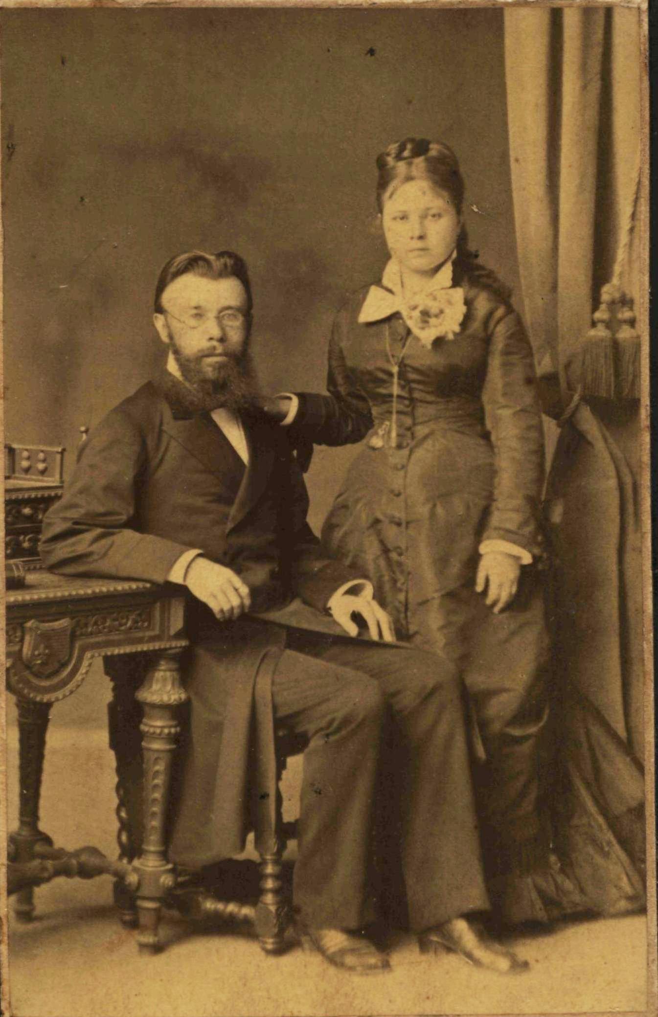 Портрет супружеской пары Орловых. 1879