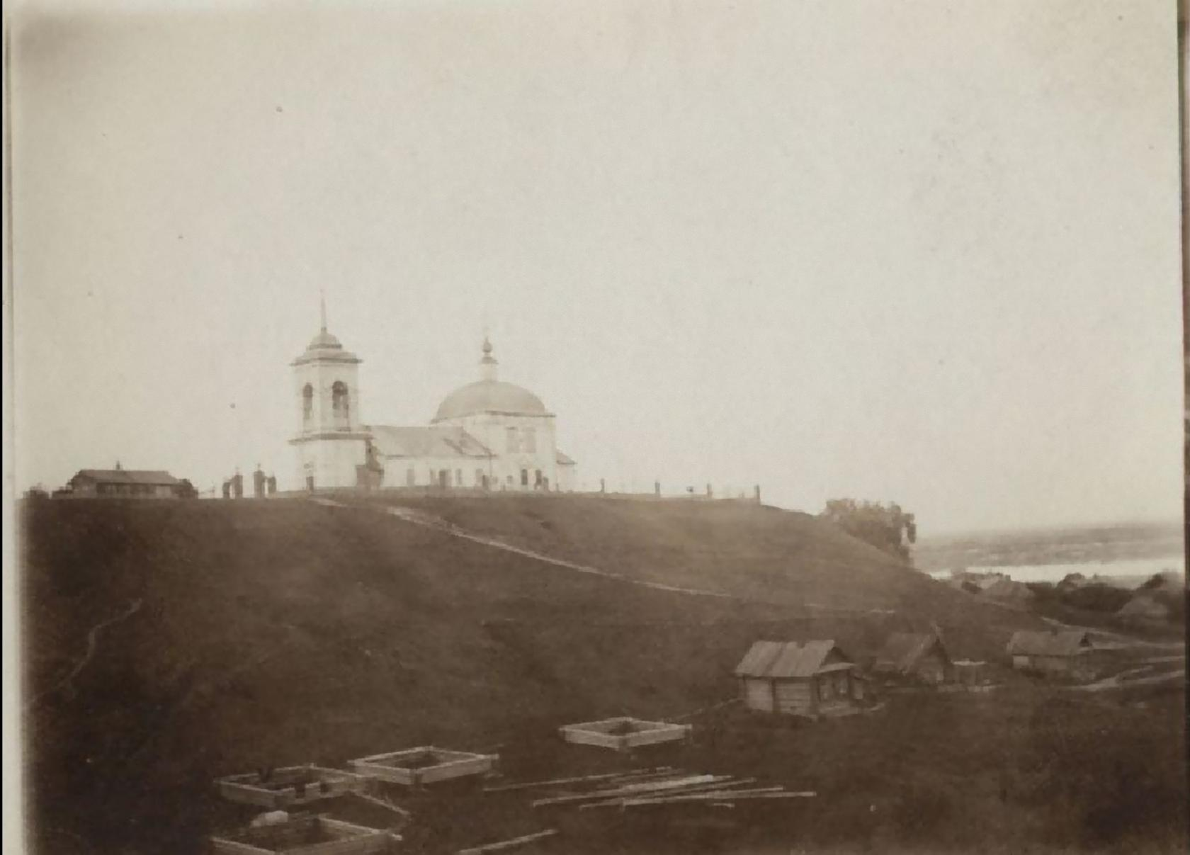 Окрестности Мурома. Якиманская Слобода. Церковь Иоакима и Анны