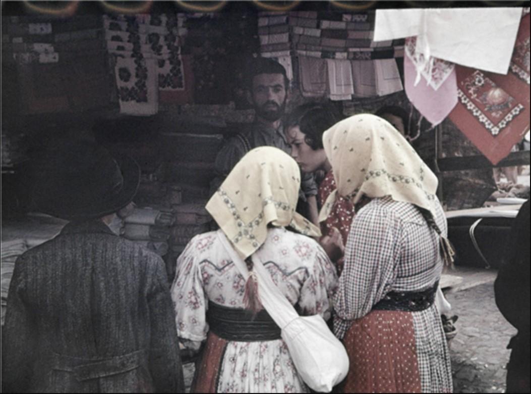 Торговец тканями