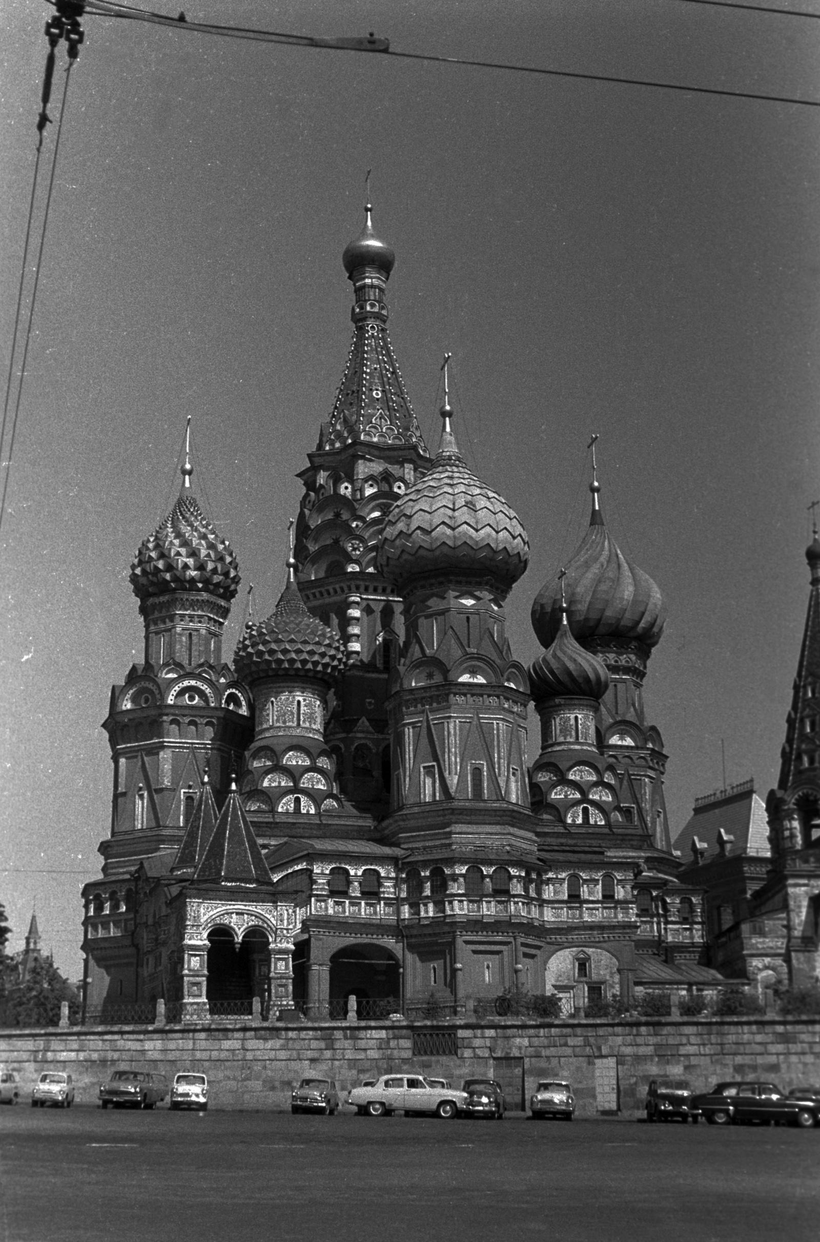 Собор Василия Блаженного на Красной площади