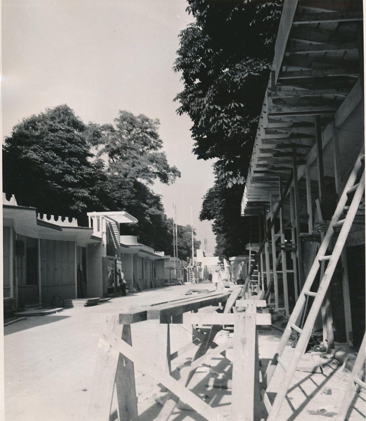Строительство Торговой улицы