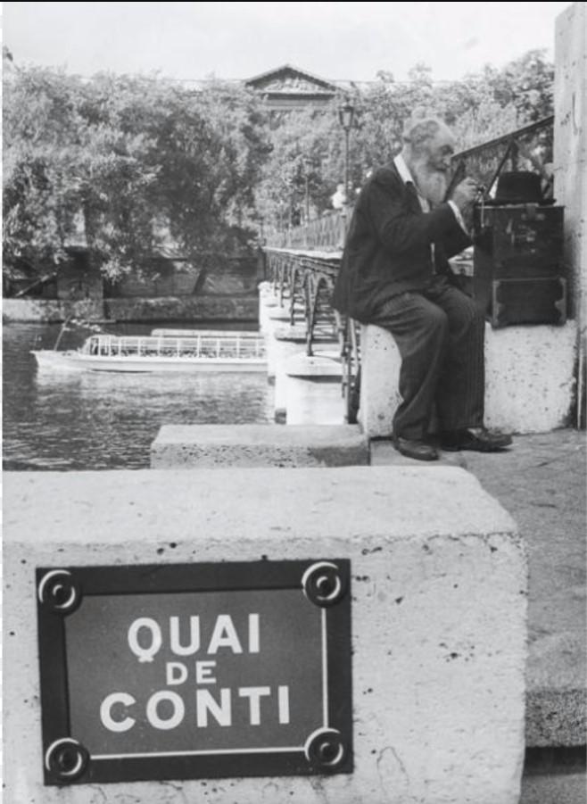 1960. Набережная Конти