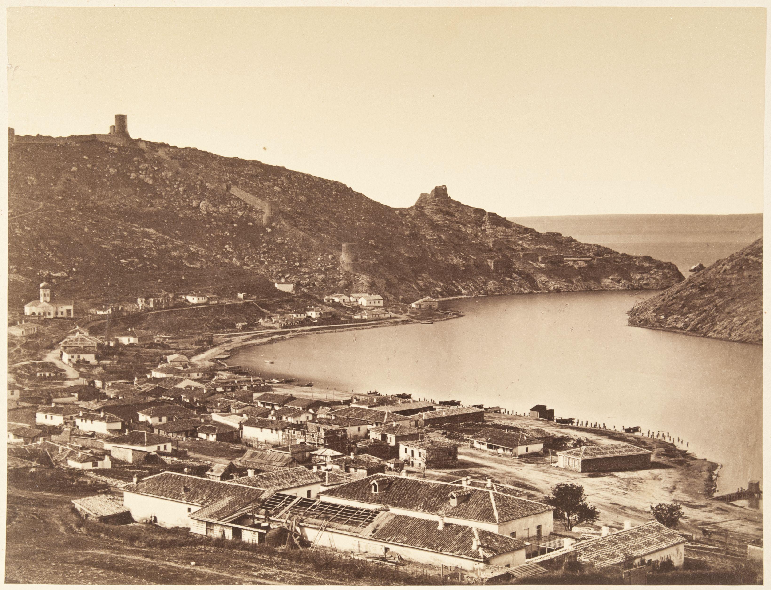 Балаклавская бухта. 1875