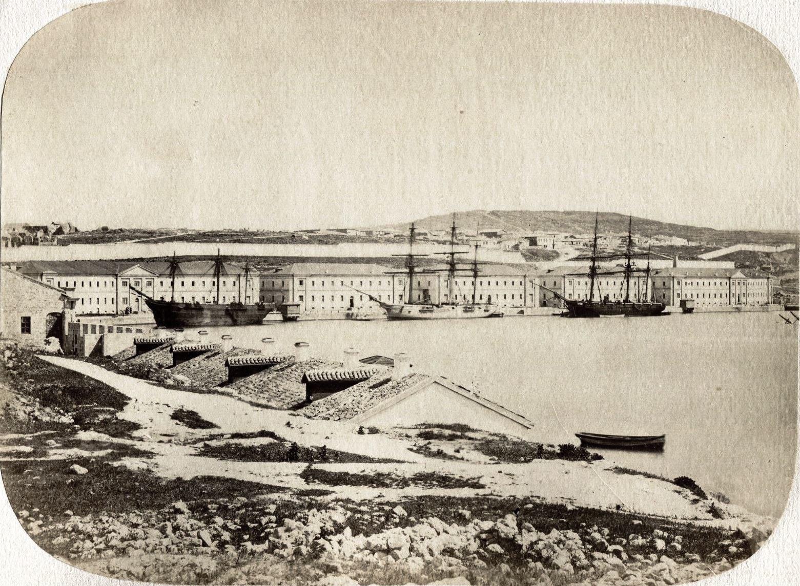 Корабельная бухта. 1860-е
